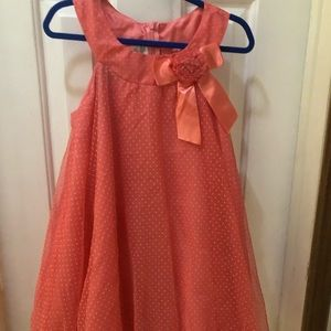 3/$25 Girls Coral Dress